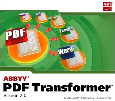 ABBYY PDF TRANSFORMER 2 0 982 СКАЧАТЬ БЕСПЛАТНО